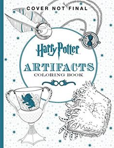 Harry Potter Artifacts Coloring Book @ niftywarehouse.com