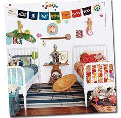 Jenny Lind toddler beds...room set up
