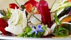 Les Maisons de Baumanière : 5 star Relais & Châteaux Hotels, gastronomic and gourmet Restaurants and a Spa in Provence and in the Drome region - France Michelin Star, Caprese Salad, Cobb Salad, Restaurants Gastronomiques, Spa Luxe, Luxury Food, Simple Pleasures, Sushi, Salads