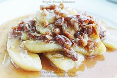 Maple Pecan Bananas | Weight Loss Meals and Recipes - Clean Eating Recipes