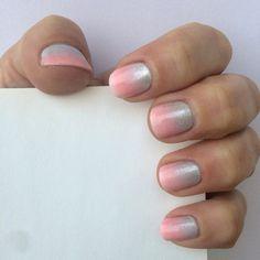 Gradient nails...