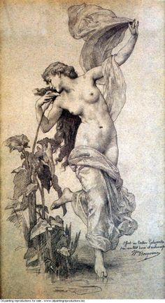 William-Adolphe Bouguereau » The aurora