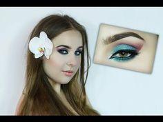 Exotic makeup for summer tutorial - #summertutorial #eyemakeup #eyeshadow #exoticmakeup #glamdiva - Love beauty? Go to bellashoot.com for beauty inspiration!