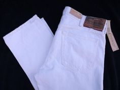 Denim & Supply Ralph Lauren White Skinny Jeans #DENIMSUPPYRALPHLAUREN #SlimSkinny