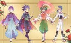 Yuri, Yuto, Yuya and Yugo