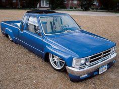 Custom 1984 Toyota Pickup - Feature Truck - Mini Truckin' Magazine