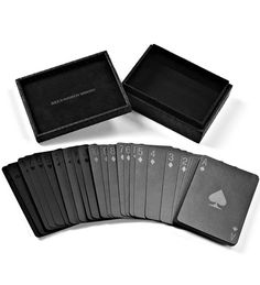 Playing cards by Alexander Wang (I'm in love! with these!)