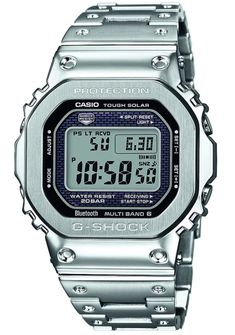 Casio G-Shock GMW-B 5000 D-1 Brings 'Full Metal' To The 5000-Series Casio Watch Releases