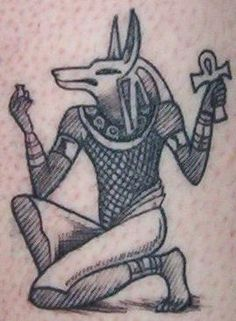 Anubis Tattoo by Busiris