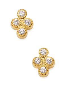 JACQUIE AICHE CZ Cluster Stud Earrings