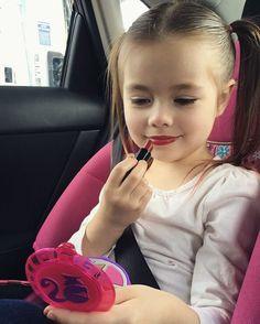 """This little girl is a pro MUA! She's taking appointments now! Hurry! Spots fill up quickly!! Lol "" - @guerita_k. #Suavecitalipsticks  #suavecita #victory #lipstick #redlipstick #lippie #lips #red #truered #mua #muah #makeup #cosmetics #suavecitabeauty #beauty #love #getitrucca #getitnino"