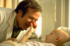 Patch Adams; The power of love and compassion.
