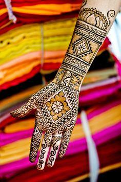 Colorful Henna
