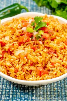 Learn how to make this Easy Homemade Mexican Rice, or Spanish Rice, with step by step instructions, for a tasty Mexican side dish for a Mexican food dinner. Homemade Mexican Rice, Mexican Rice Recipes, Rice Recipes For Dinner, Corn Recipes, Side Dish Recipes, Potluck Recipes, Supper Recipes, Spanish Rice Recipe, Cinco De Mayo