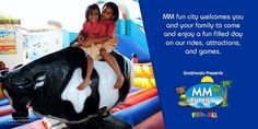 MM fun city welcomes you and your family to come and enjoy a fun filled day on our rides, attractions, and games.