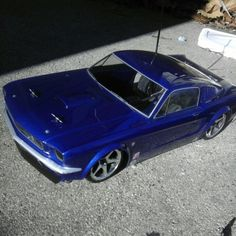 top 10 favorite colors - Royal Blue + Peral Flake 1965 Mustang, Shelby Mustang, Rc Hobbies, Blue Pearl, Rc Cars, Favorite Color, Royal Blue, Mustangs, Vehicles