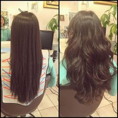 body wave perm before and after - Google Search
