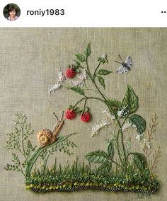 Our goal is to keep old friends, ex-classmates, neighbors and colleagues in touch. Hand Embroidery Designs, Embroidery Kits, Diy And Crafts, Arts And Crafts, Ribbon Work, Needle And Thread, Cross Stitching, Fun Projects, Needlepoint