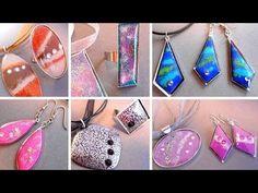 DIY - Fabriquer des bijoux effet émaillé - YouTube