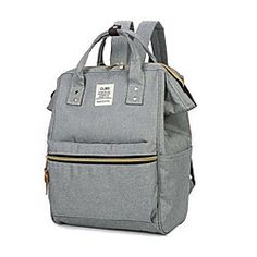 HOT Product! A hot product at an incredible low price is now on sale! Come check it out along with other items like this. Get great discounts, earn Rewards and much more each time you shop with us! http://www.lightinthebox.com/women-canvas-casual-backpack-gray_p5330428.html?&share_statistics_OS=Android&share_statistics_source=product_detail&share_statistics_type=product&share_statistics_platform=Pinterest