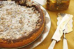 Receta de pastel armenio de nuez moscada. Fotografías con el paso a paso de todo el proceso de elaboración. Sugerencia de presentación. Receta de postres