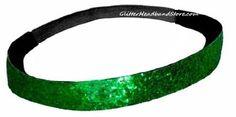 Sport Headband Green Glitter | Headbands For Women