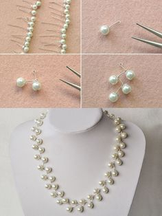 Pearl necklace, wanna it? LC.Pandahall.com will publish the tutorial quickly.   #pandahall