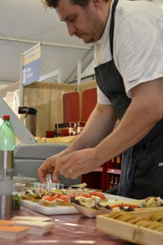 Slow Fish 2013 Genova Chef in action!