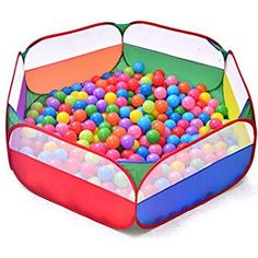 Kids Portable Color-net Ball Pit Balls Pool Playpen - Child Toy Tent Playhut for sale online Home Daycare, Best Kids Toys, Playpen, Outdoor Play, Kids Playing, Cool Kids, Playroom, Toddler Bed, Children