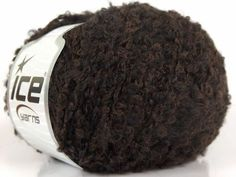 Lot of 8 Skeins ICE FIGARO BOUCLE (36% Merino 13% Kid Mohair) Yarn Brown Black   eBay