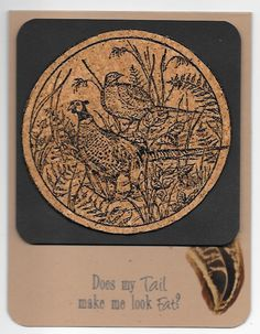 Fat Tail? by SodakStamper - Cards and Paper Crafts at Splitcoaststampers