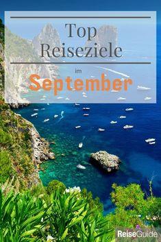 Top Reiseziele für den September. Sonne tanken! Sevilla, Isle Of Capri, Andalusia