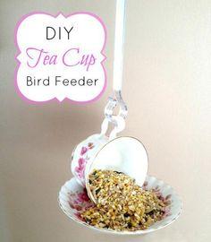 bird crafts   Handmade Bird Feeders Recycling Clutter, 12 Recycled Crafts for Kids ...