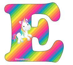 Hermoso abecedario de Unicornios para descargar e imprimir completamente gratis. Con la mejor calidad de imagen podrás obtener las letras con la figura del animal de fantasía, conel fondo tal como…