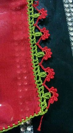 Crochet Borders, Crochet Lace, Free Crochet, Knit Shoes, Manta Crochet, Knitted Shawls, Knitting Socks, Hand Embroidery, Pattern Design