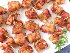 Sweet Chicken Bacon Wraps (Paula Deen)