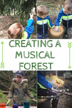 Get outside and make some noise! Turn your yard into a musical forest with these simple instruments.