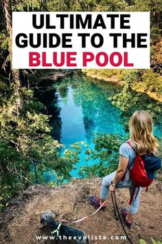 9 Things you need to know before doing the Blue Pool Oregon Hike. It's an easy hike but these tips will help you avoid problems that people encounter every day on this Pacific Northwest adventure to the most beautiful blue pool you've ever seen. Tamolitch Blue Pool Oregon | Tamolitch Falls | Oregon Blue Pool | McKenzie River Trail Oregon | Bucket List Oregon hiking trails | Best Oregon Hikes | Tips and tricks for Oregon travelers | Willamette Forest | Oregon road trip #oregon #hiking #travel