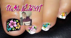 Image may contain: one or more people and closeup Cute Pedicure Designs, Toe Nail Designs, Cute Pedicures, Flower Nails, Toe Nails, Manicure, Finger, Instagram, People