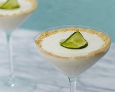 Key Lime Panna Cotta #recipe #GiadaWeekly