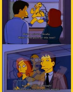 Should the X-files make a return to Springfield? #homersimpson #thesimpsons #bestofsimpson #xfiles