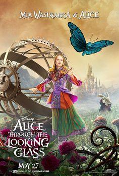 """Dicas de Filmes pela Scheila: Filme: """"Alice Através do Espelho (2016)"""""""