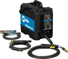 A Miller Multimatic 200. A machine that can stick, TIG and MIG weld all in one box. WANT!!!