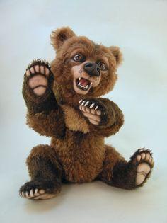how to needle sculpt teddy bear feet - Google Search