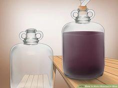 Alcohol Drink Recipes, Wine Recipes, Muscadine Wine, Yeast Packet, Wine Yeast, Homemade Wine, Wine Making, Yummy Drinks, Perfume Bottles