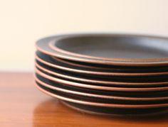 Arabia Finland Ruska dinnerware. Hygge.