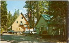 Huntington Lake store, cafe, gift shop and post office. So many fond memories. The air is breath taking.