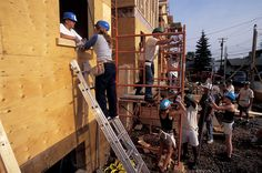 Build a house with Habitat for Humanity. It's a great charity that helps break the cycle of poverty. You'll also learn some useful skills and meet some great people. Volunteers Needed, Life List, Habitat For Humanity, Bright Future, Helping Hands, Time Out, Work Travel, Dream Big, A Team