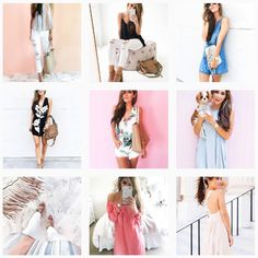 Pin for Later: 9 Ways to Give Your Instagram Feed a Fashion-Girl Makeover Or Bright and White