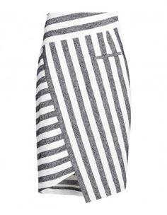 Palazzo Полосатый юбка